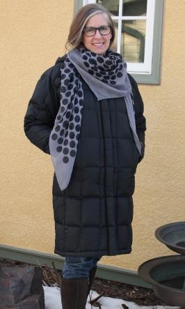 polka dot scarf - kerchief tie