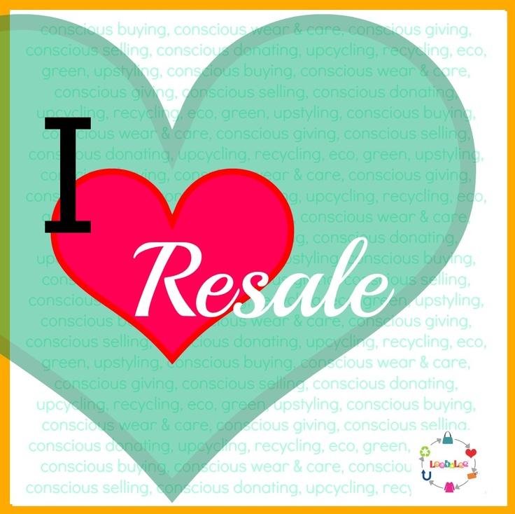 I heart resale