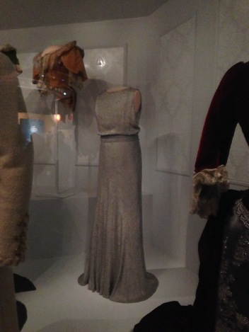 Eleanor Roosevelt's dress - my favorite because of the clean lines and simple elegance.