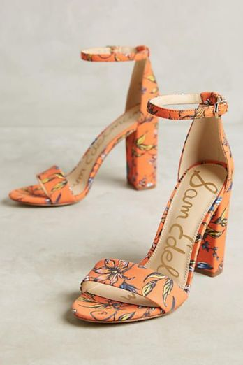 sam edelman floral sandals