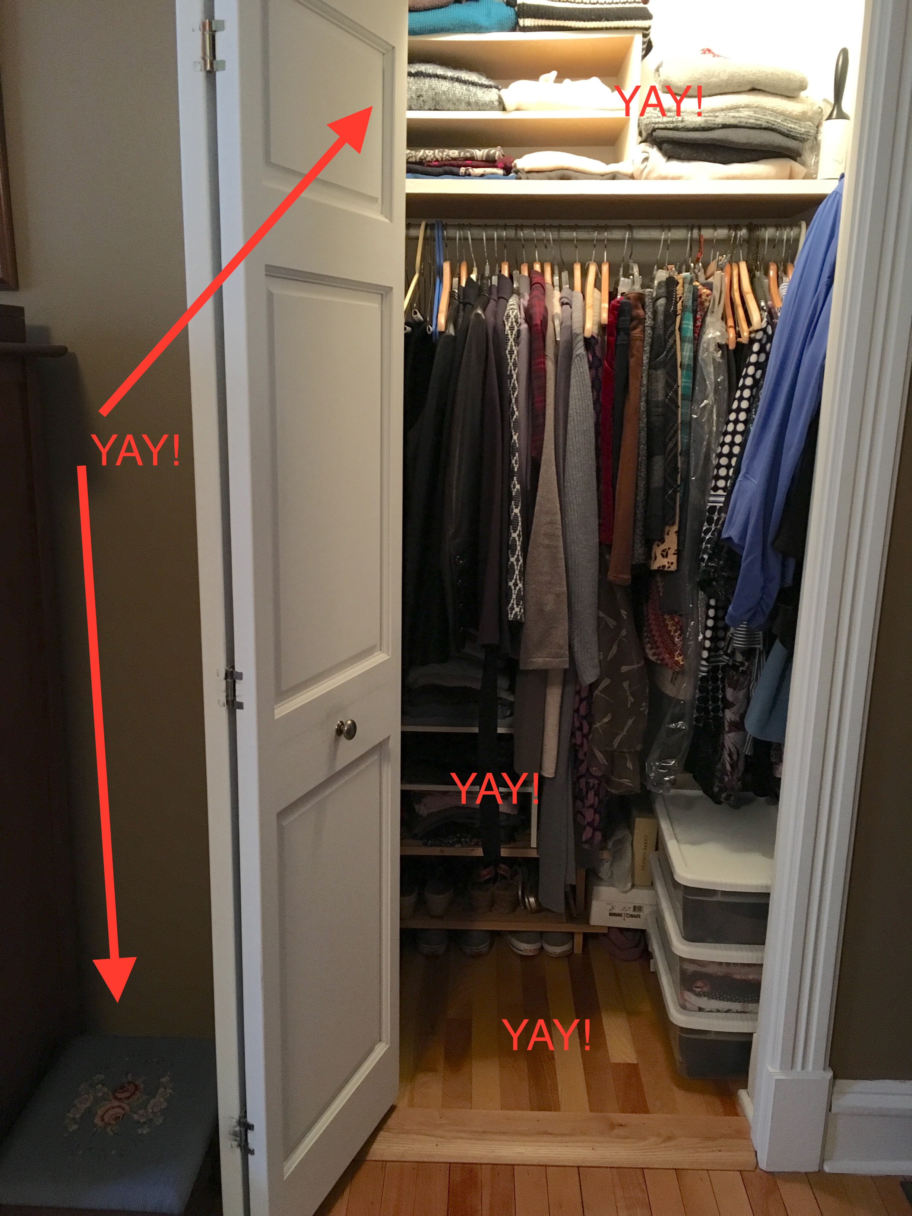 Ndwc Closet 1. See That Sweet Little Step Stool ...