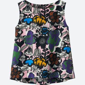 bold print blouse