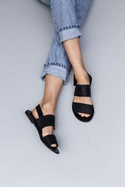 comfort sandal black