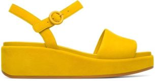 comfort sandal yellow