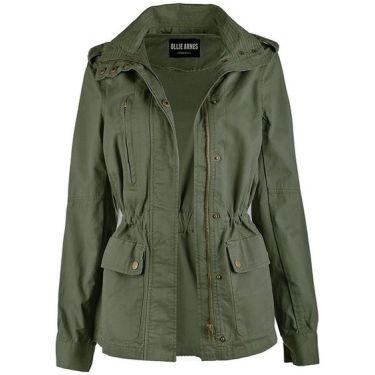 military green utility jacket