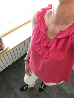 ndwc_summer travel red blouse outfit full